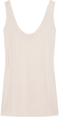 The Row Roger modal and silk-blend jersey tank