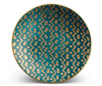 L'OBJET Fortuny Tapa Blue Canape Plates, Set of 4