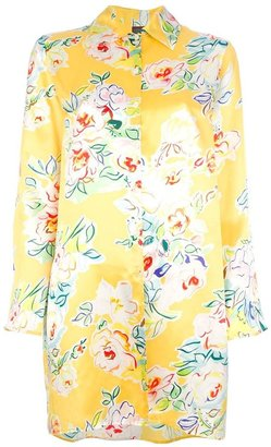 Kenzo Vintage floral shirt dress