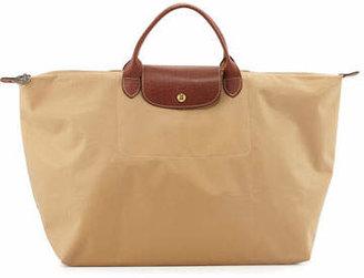 Longchamp Le Pliage Large Travel Bag, Beige