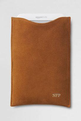 Lands' End Suede & Shearling Kindle/Nook/iPad mini Case