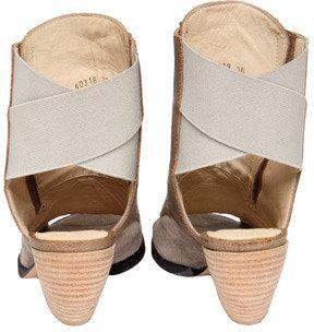 Ld Tuttle Open Toe Corset Boot Ash
