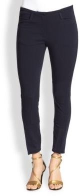 3.1 Phillip Lim Cropped Jodhpur-Paneled Skinny Pants