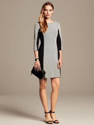 Banana Republic Colorblock Jacquard Sheath