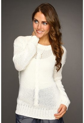 Robert Rodriguez Cable Knit Pullover (Ivory) - Apparel