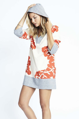 Karen Zambos - Coral Hooded Pullover $150 thestylecure.com