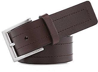 Boss Black Ubarto Leather Belt