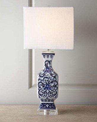 Vince Toile Scenes Lamp
