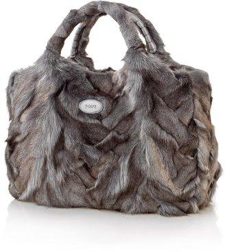 Tod's Medium Fur Tote Bag