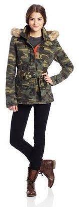 Buffalo David Bitton by David Bitton Women's Military Camo Coat