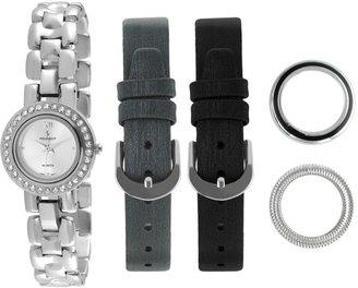Peugeot Women's 669 Interchangeable Bezel & Band Gift Set Watch