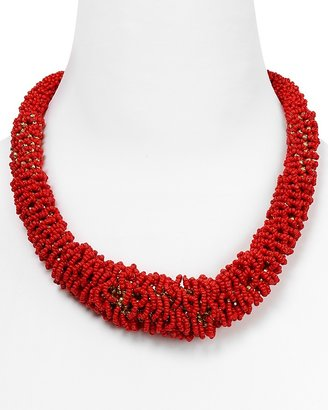 ABS by Allen Schwartz Graduated Seed Bead Necklace, 20""