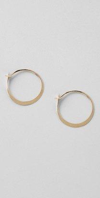 Melissa Joy Manning Mini Hoop Earrings