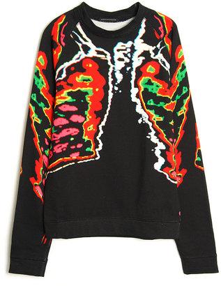 Christopher Kane Ribcage Sweatshirt