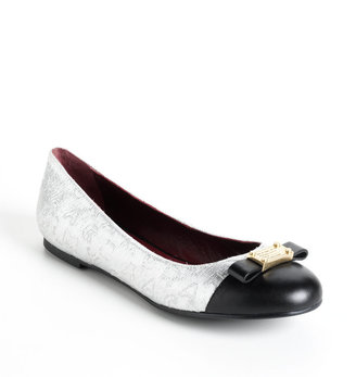 Marc by Marc Jacobs Embellished Bow Flats
