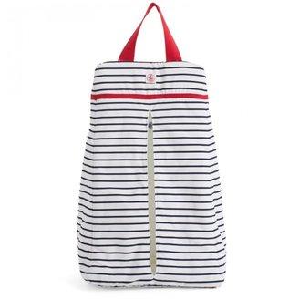 Petit Bateau Navy Stripe Diaper Bag