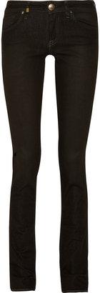 M Missoni Linda low-rise skinny jeans
