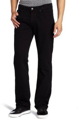 Paige Men's Doheny Straight Leg Jean in Black Overdye