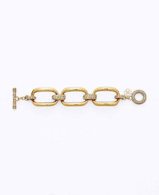 Ann Taylor Large Rectangular Link Bracelet