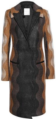 Marco De Vincenzo Wave Wool Coat