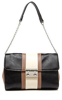 Kate Landry Colorblock Small-Flap Shoulder Bag