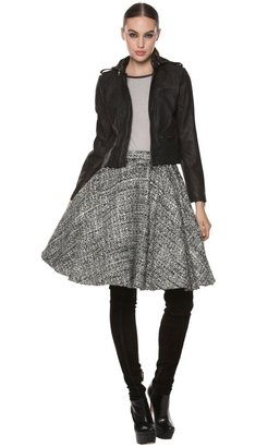 Alice + Olivia Ivy Midlength Circle Skirt