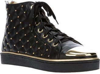 Gianmarco Lorenzi Collector studded hi top