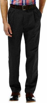 66d322dc96 Haggar Work to Weekend Classic-Fit Pleated Pants