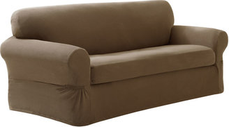 JCPenney Maytex Mills Maytex Smart Cover Pixel Stretch 2-pc. Sofa Slipcover