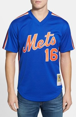 Mitchell & Ness Men's 'Dwight Gooden - New York Mets' Authentic Mesh Bp Jersey