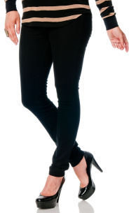 A Pea in the Pod J Brand Side Panel Gusset Waistband Maternity Jeans