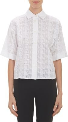 Thakoon Broderie Anglaise Crop Top