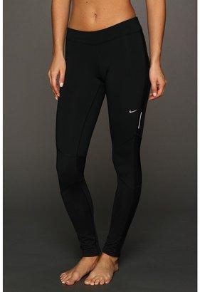 Nike Element Thermal Tight (Black/Black/Black/Matte Silver) - Apparel
