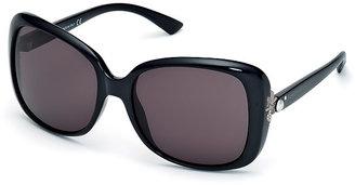 Swarovski Cate Black Sunglasses - Asian fit