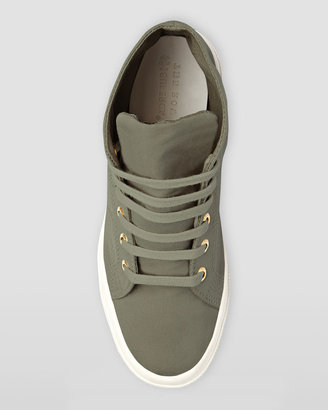 Superga For The Row Hi-Top Faille Lace-Up Sneaker, Truffle
