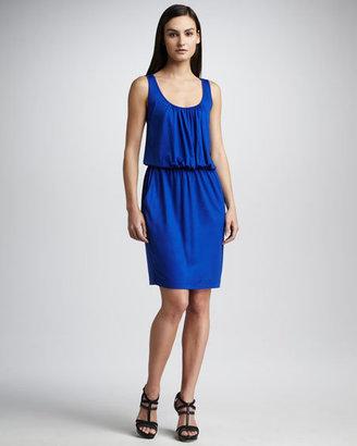 DKNY Pleat-front Dress