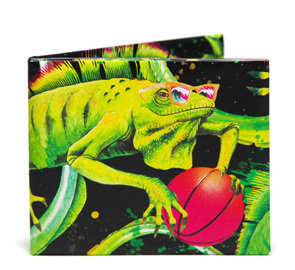 Mulholland THE WALART The Iguana Bifold Wallet x Emma