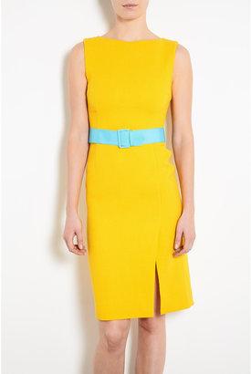 Jonathan Saunders Odette Wool Crepe Shift Dress