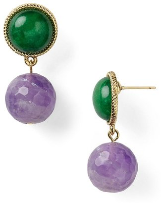 The Natural Carolee Lux In Double Drop Earrings