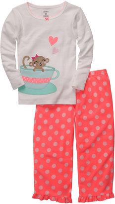 Carter's 2-pc. Mouse & Teacup Pajamas - Girls 2t-5t