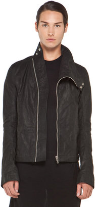 Rick Owens Mountain Jacket in Black