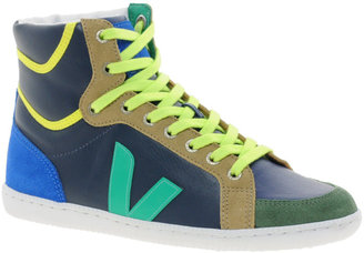Veja x Domino SPMA Multi-coloured Nautico High Top Sneakers