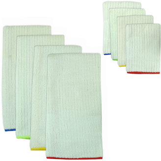 Asstd National Brand Primary Trim 8-pc. Dish Towel and Dishcloth Set