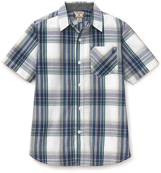 Volcom Boys & #039; Ex Factor Plaid Woven Shirt - Sizes S-XL