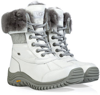 UGG Leather Adirondack Boots in White