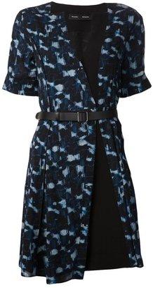 Proenza Schouler abstract print dress
