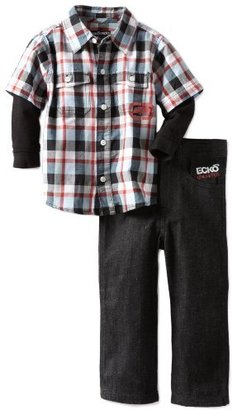 Ecko Unlimited Boys 2-7 Woven Shirt