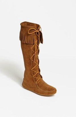 Women's Minnetonka Lace-Up Boot $93.95 thestylecure.com