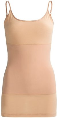 Yummie Tummie Strappy Long Tank Top - 3-Panel (For Women)