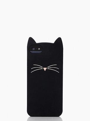 Kate Spade Black cat iphone 5 case